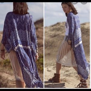 Auguste The Label Wonder Kimono Navy 8